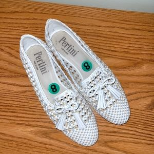 Classic Woven Leather Flats